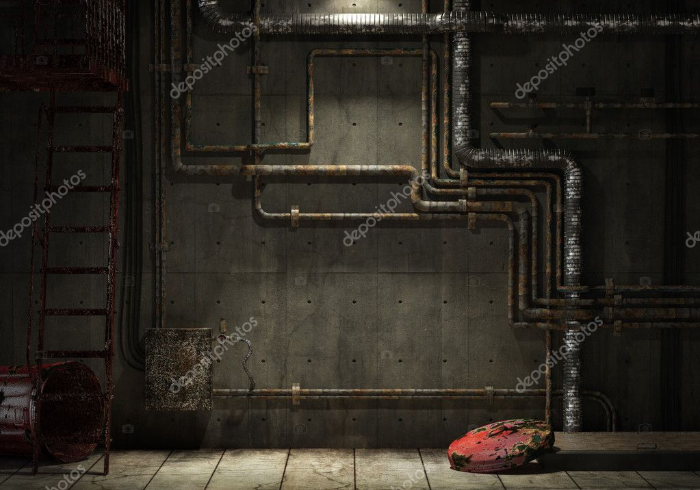 Grunge Industrial Pipe Wall Stock Photo 169 Arquiplay77