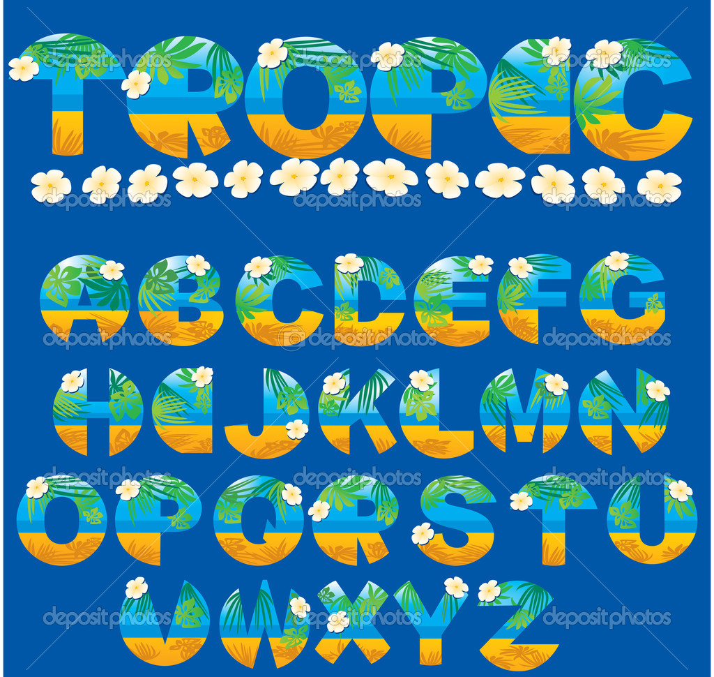 Tropical letters