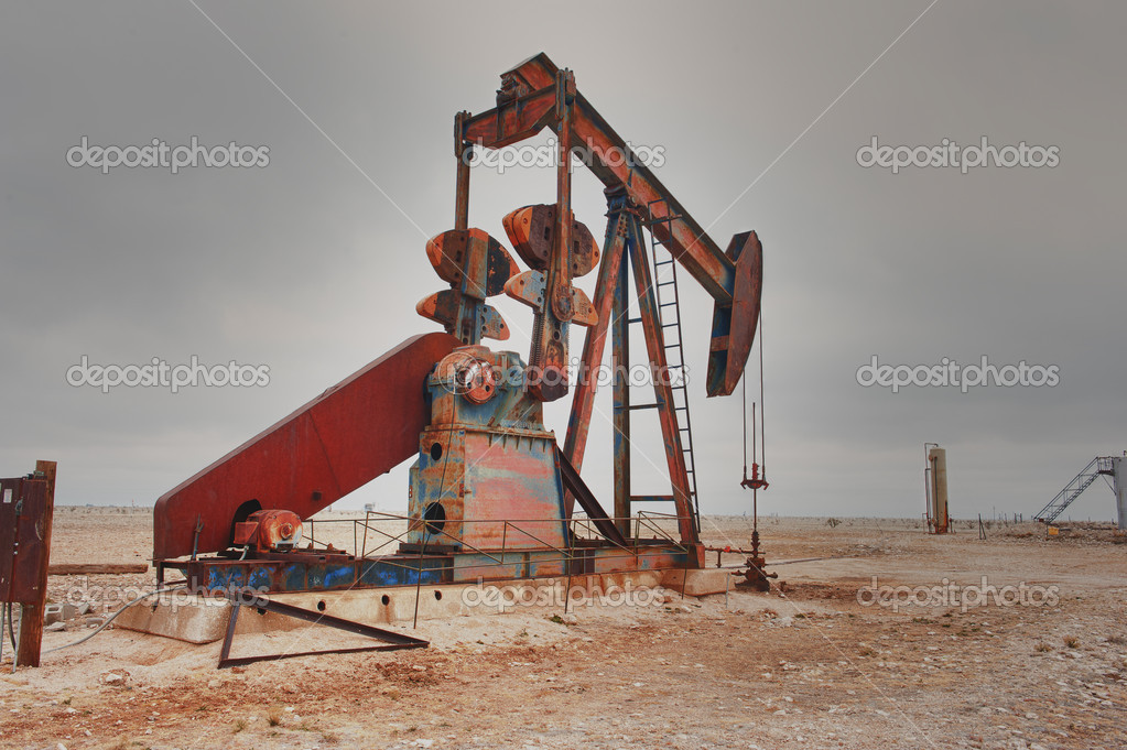 West Texas Pump Jack — Stock Photo © johnweast #8280833