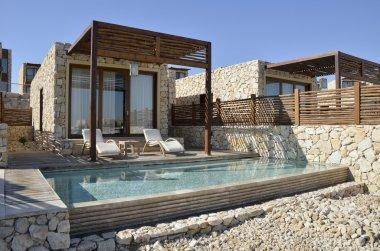 Tourist hotel in Negev desert, Israel.