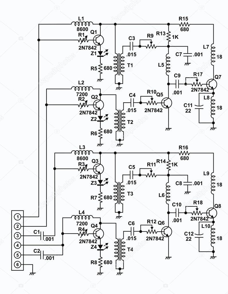 Circuito Eletrico : Circuito elétrico u fotografias de stock westwindgraphic