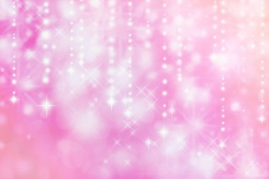 Pink colored image of abstract lights - background stock vector
