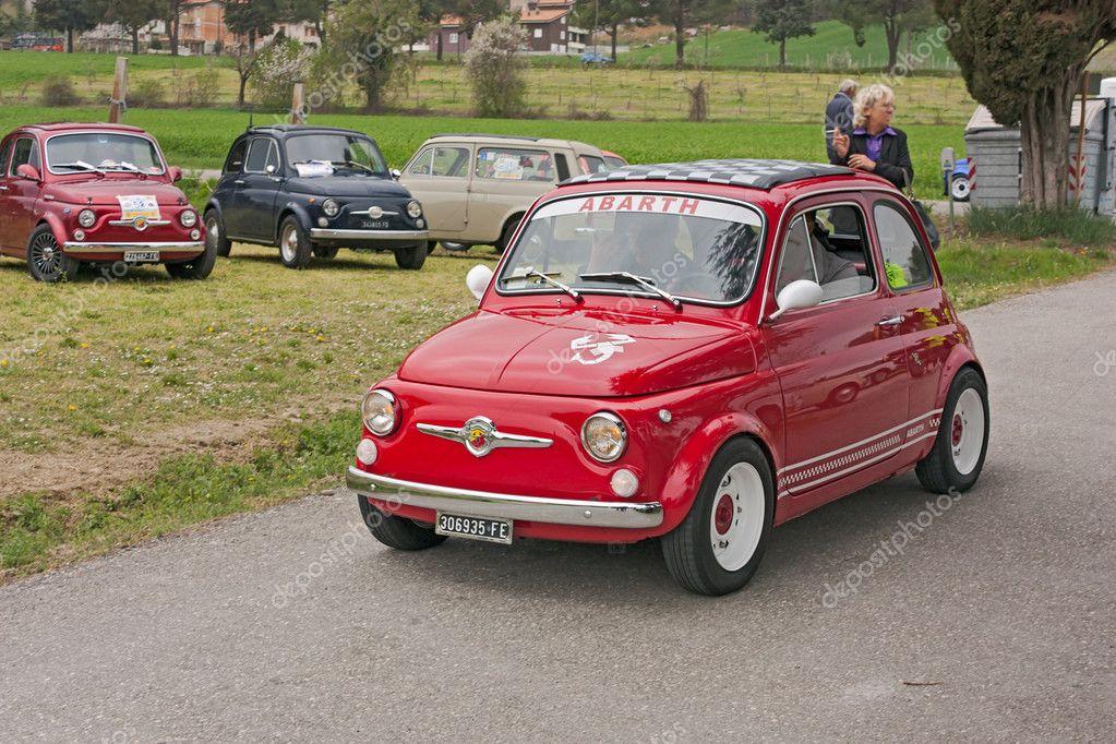 Vintage Fiat 500 Abarth Stock Editorial Photo C Ermess 10397905