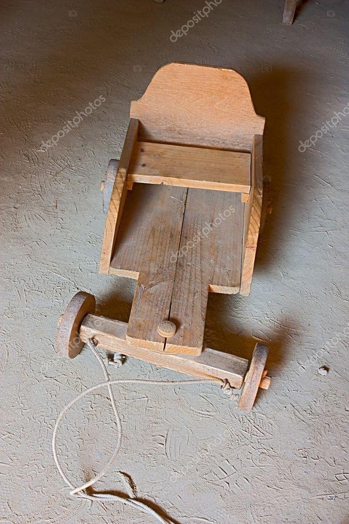 Juguetes De Madera Antiguos Para Ninos Carro Antiguo Para Los