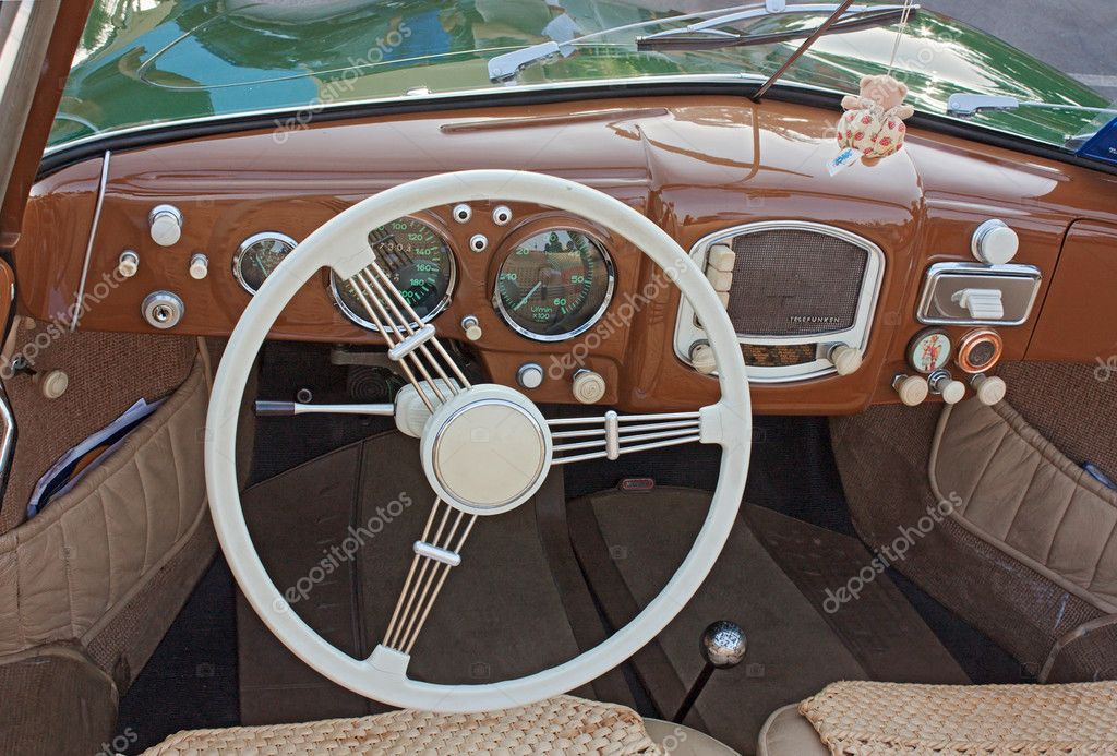 Classic Car Interior Stock Editorial Photo Ermess 8743298