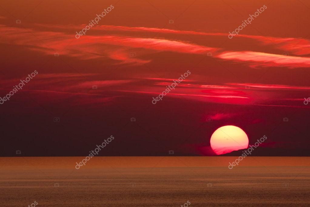 Sunset, Alanya, Turkey