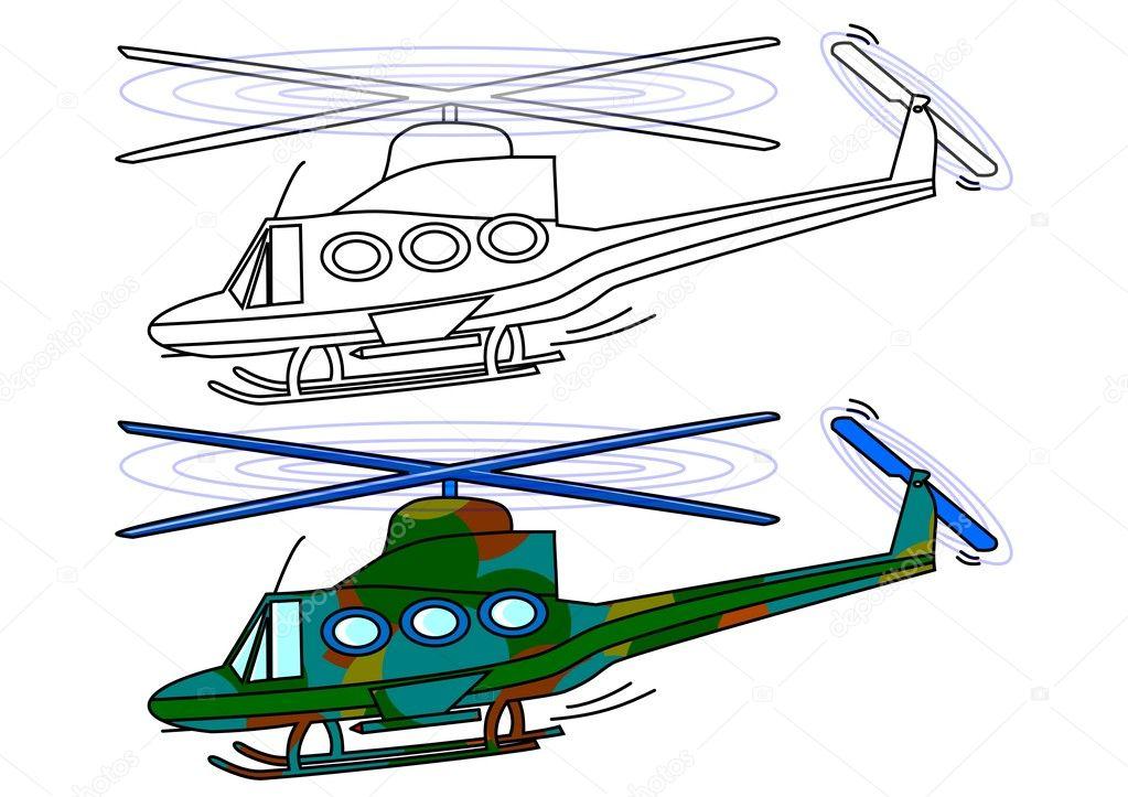helicóptero militar enmascarado — Fotos de Stock © petr73 #8782746