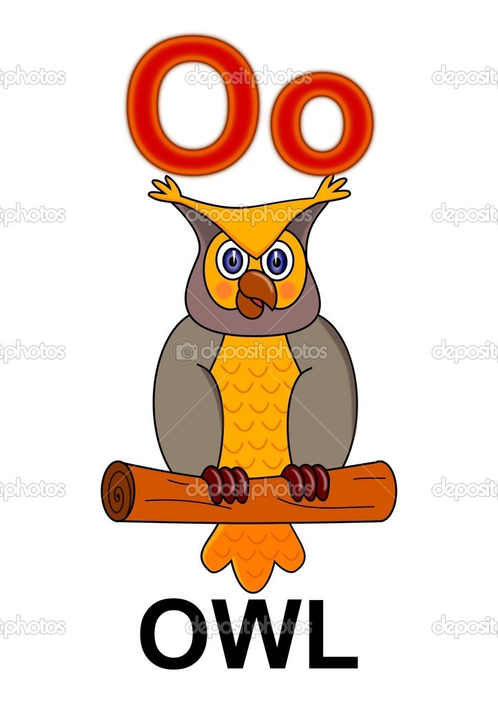 алфавит и картинки сова часть месяца