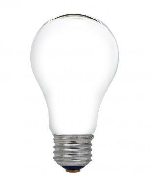 Empty electric light bulb