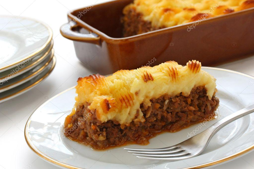 Englische Küche cottage pie shepherd s pie englische küche stockfoto asimojet