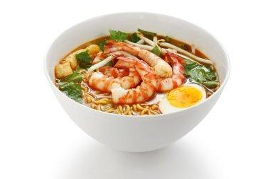 Prawn mee, prawn noodles