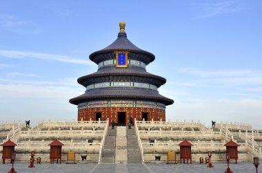 The Imperial Vault of Heaven in the Temple of Heaven in Beijing,