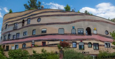Waldspirale Apartment Building