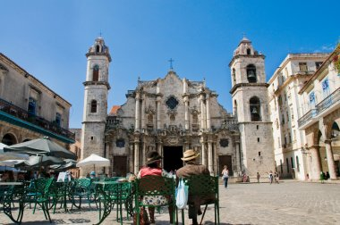 Cathedral of Saint Christopher in La Havana.