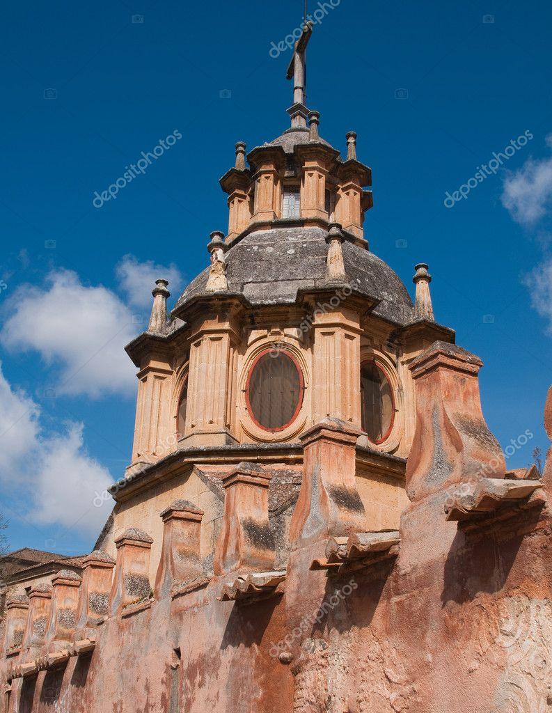 Sacromonte Abbey in Granada  Spain — Stock Photo