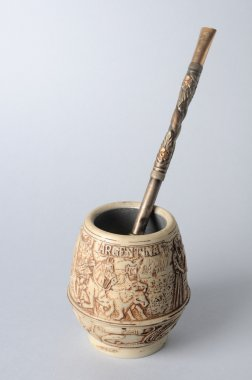 Mate cup decorated from Argentina