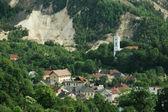 hornické město, rosia montana, Rumunsko