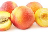Fotografie Pfirsich frisches Obst