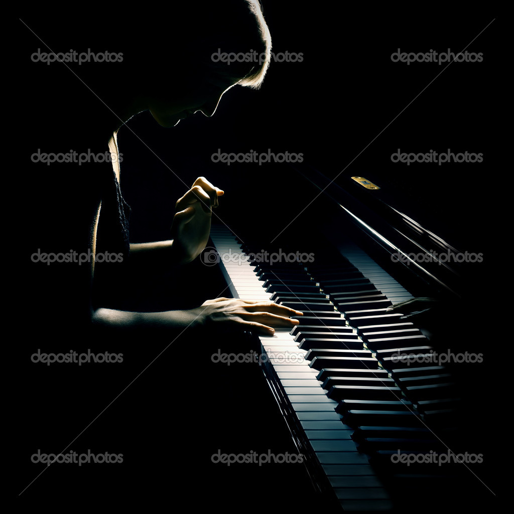 Piano pianist playing