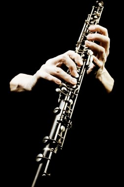 Oboe musical instrument of symphony orchestra.