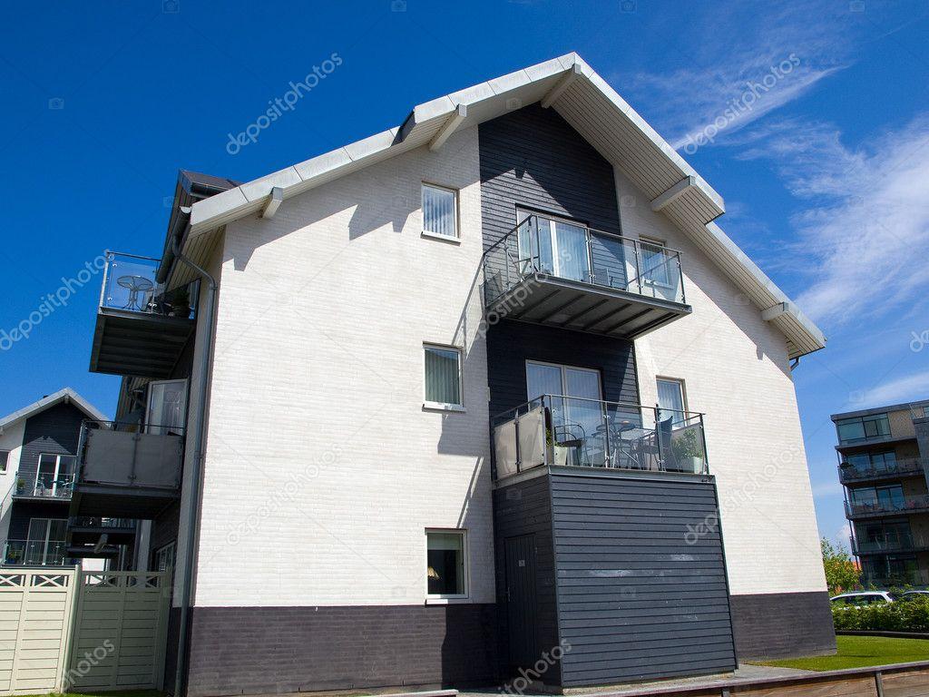 Modernos apartamentos edificio fondo de arquitectura for Arquitectura departamentos modernos