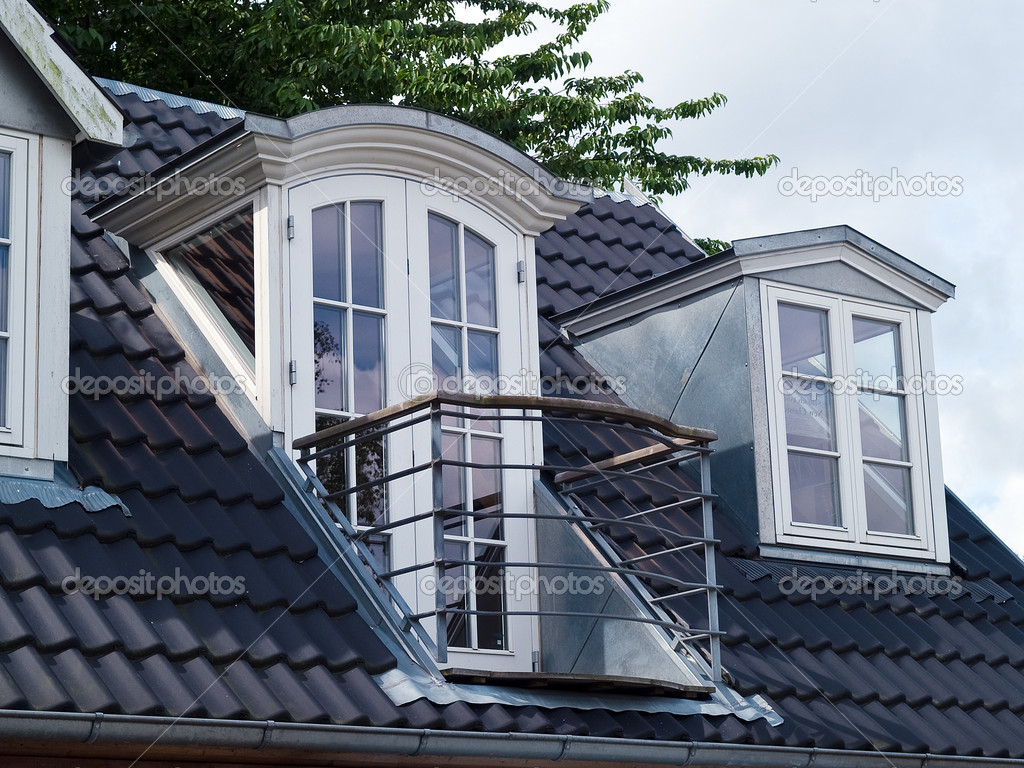 Modern Classical Design Vertical Roof Windows With A