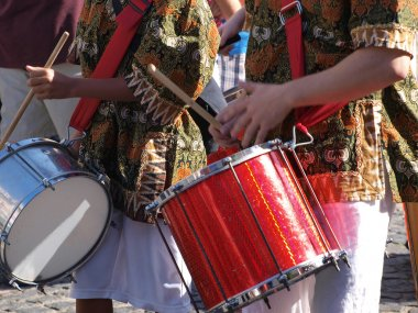 Brazil samba carnival drums