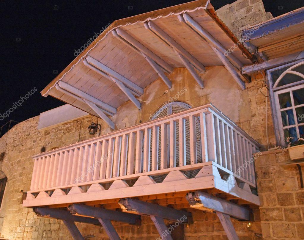 Mediterranen Italienischen Stil-balkon-terrasse ? Stockfoto ... Balkon Und Terrasse Mediterranen Stil