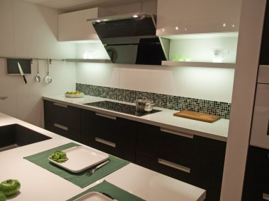 Modern trendy design kitchen