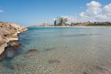 Beach in Herzliya Israel