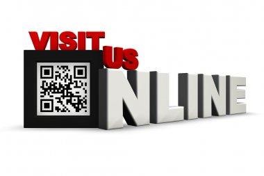 QR Code 3Ds Visit Us Online