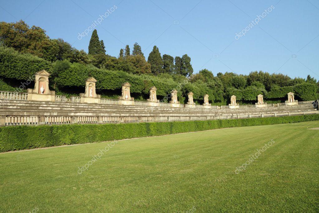 Italian historic garden
