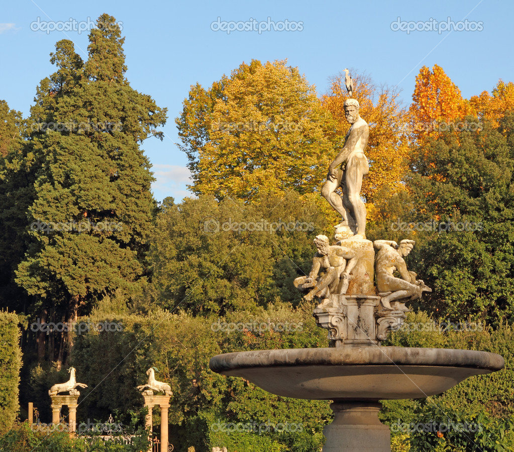 Fountain in the Boboli Gardens