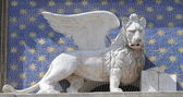 Photo Winged lion of Venice