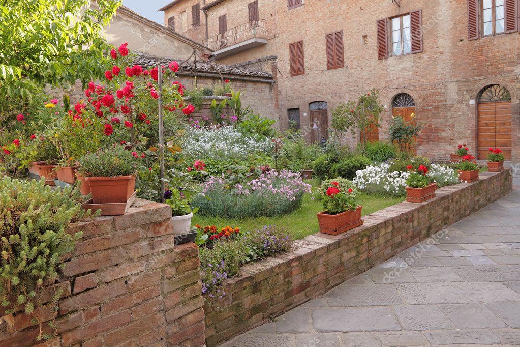 Pictorial backyard