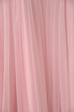 Pink chiffon texture background