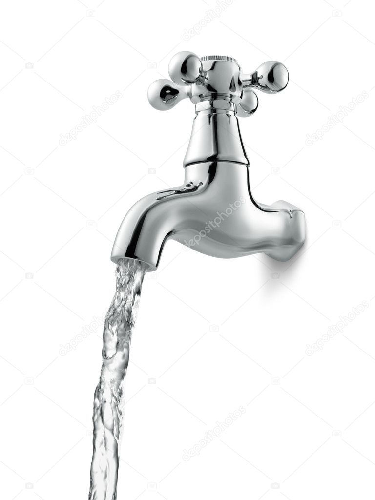 Water faucet — Stock Photo © ifong #9157618