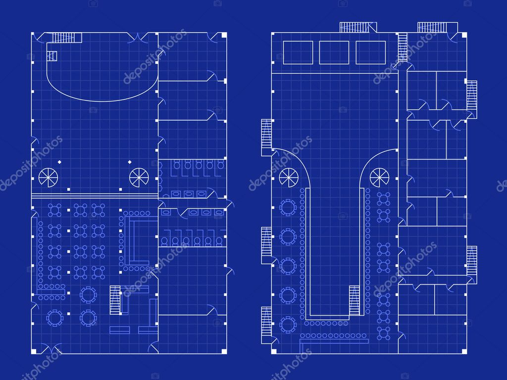 simple nightclub blueprint stock vector bigldesign 9039694 floorplan for a nightclub with stage and bar in blueprint style vector by bigldesign
