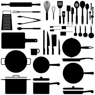 Kitchen silhouettes