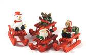 dřevěný vánoční hračky