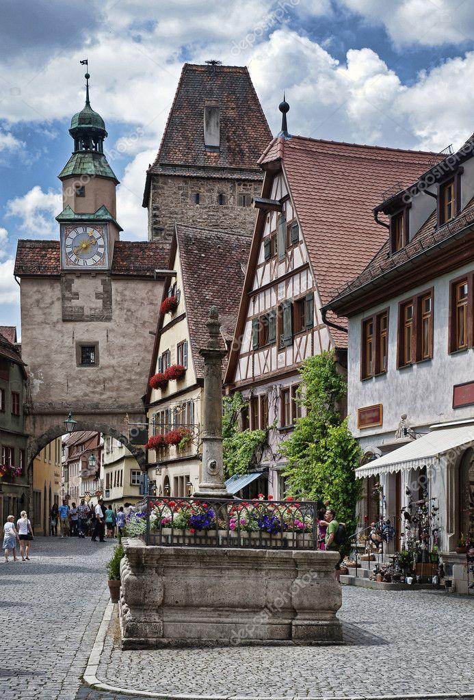 Rothenburg ob der tauber foto de stock vrabelpeter1 - Rothenburg ob der tauber alemania ...