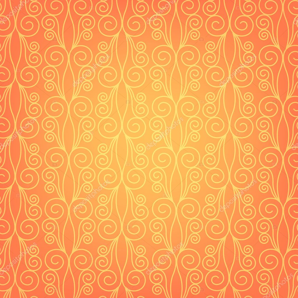 Papier Peint Orange Image Vectorielle Zaharch2 C 9709966