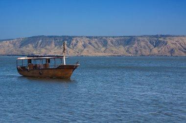Boat galileean sea