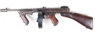 Old mashine gun
