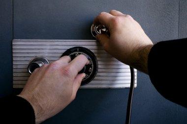 Cracking a safe