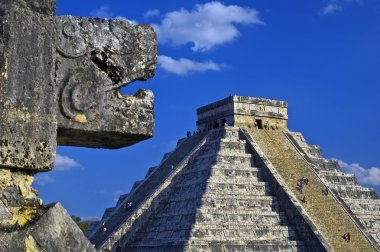 Main pyramid at chichen itza