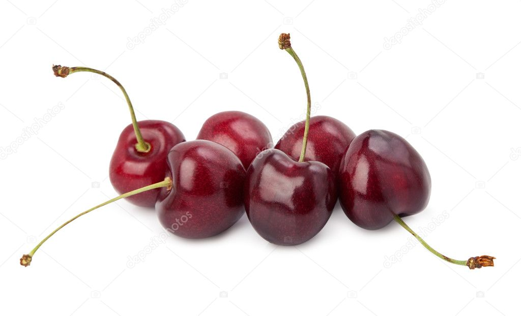 Black Cherries Stock Image