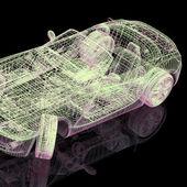 3D model auta