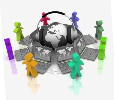 Online training concept
