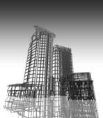 Abstraktní moderní architektura